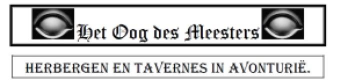 herbergen en tavernes