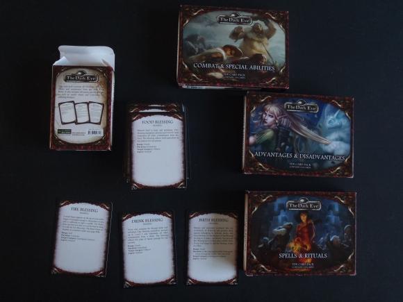 The Dark Eye card packs