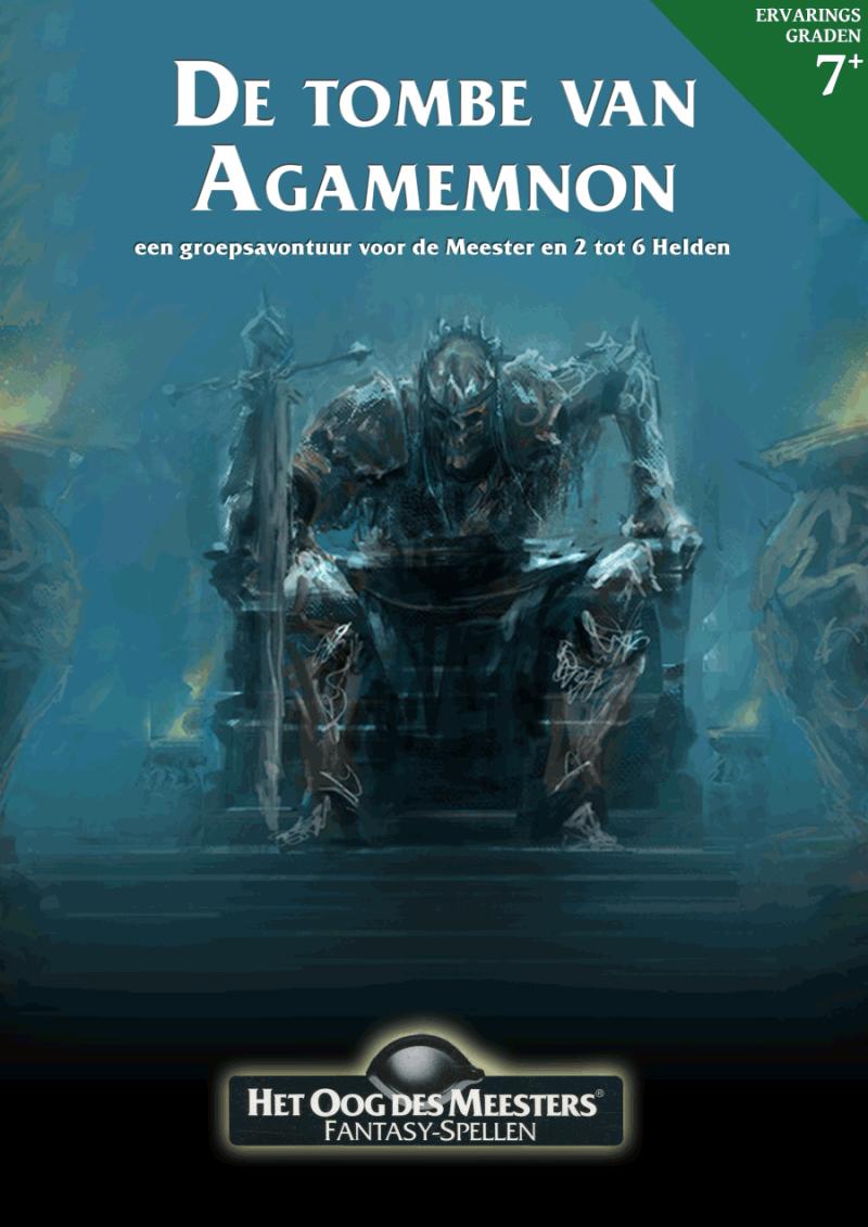 Kaft boek De tombe van Agamemnon